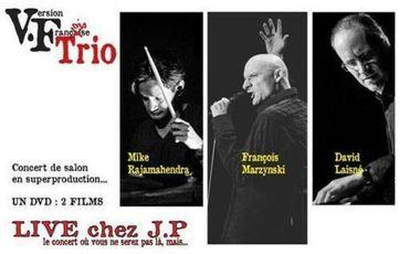 Visueel van project VF Trio concert de salon, un DVD 2 films