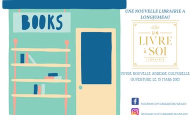 Project visual Un livre à soi - Librairie indépendante