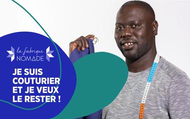 Visueel van project La Fabrique NOMADE lance son atelier d'insertion textile à Paris
