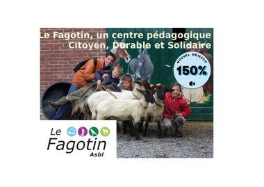 Project visual Le Fagotin, un centre pédagogique citoyen, durable et solidaire