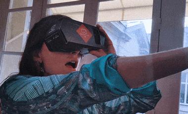 Visuel du projet DETECTIVE VR - jeu d'enquête augmentée