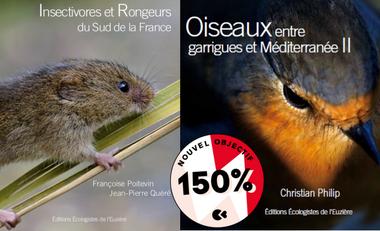 Visueel van project Des oiseaux et des micro-mammifères....des libellules & des plantes !