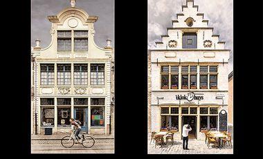 Visuel du projet Gand, vision architecturale