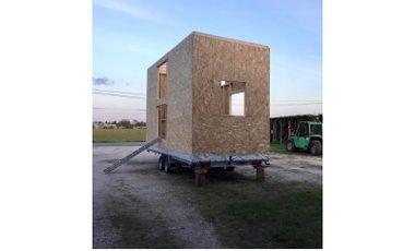 Visuel du projet Sans Entrave micro-habitat mobile, écologique et produite localement