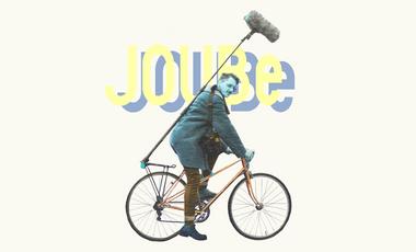 Visueel van project JOUBe, un projet de musique électro à vélo