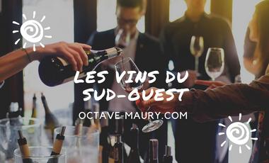 Visueel van project Octave Maury, tous les vins du Sud-Ouest!