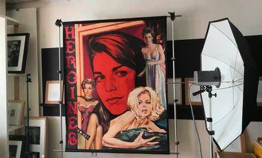 Project visual Aidez à la création d'une de mes affiches fictives de cinéma