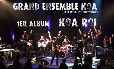 Visueel van project Grand Ensemble Koa [jazz rock contemporain]