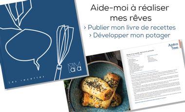 Visueel van project Les secrets culinaires de la Mama et le lancement de son potager en permaculture