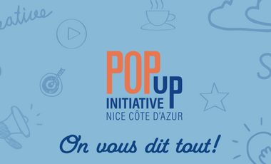 Visuel du projet POP UP Initiative Nice Côte d'Azur