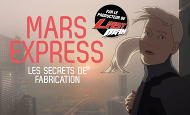 Visueel van project Mars Express : les secrets de fabrication du film