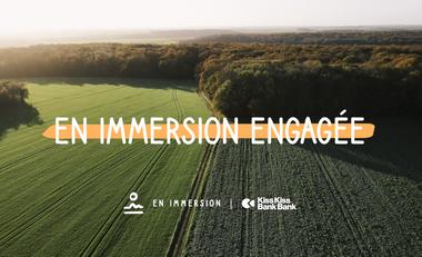 Visueel van project En immersion Engagée