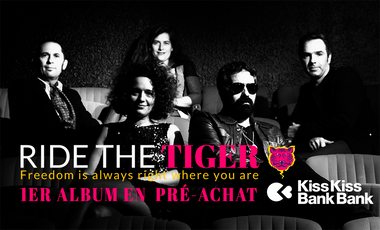 Visueel van project Ride the tiger : Album : Freedom is always right where you are