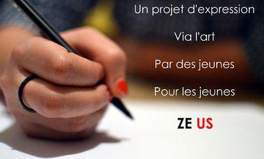 Project visual Ze Us - Favoriser l'expression des jeunes via l'art