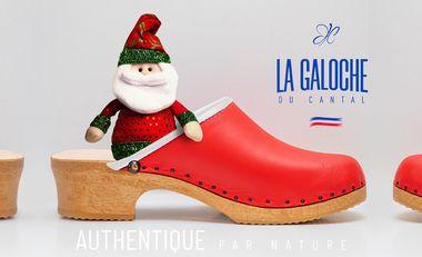 Visueel van project La Galoche de Noël solidaire  avec l'association Coucou nous voilou