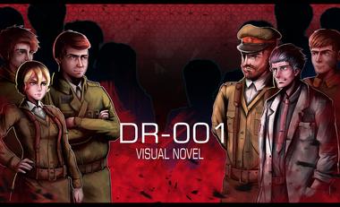Visuel du projet Visual Novel - DR001
