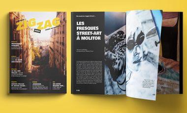 Visueel van project Zigzag le Mag !