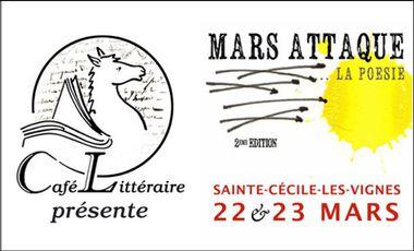 Project visual MARS ATTAQUE...LA POÉSIE