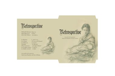 "Visueel van project Album ""Rétrospective"""