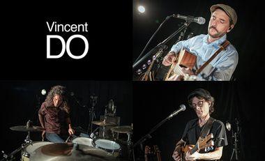 Visueel van project 1er Album + clip Vincent DO - Jongle avec les Mots