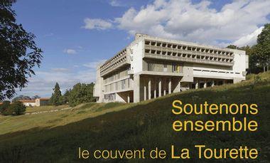 Project visual Soutenons ensemble le couvent de La Tourette