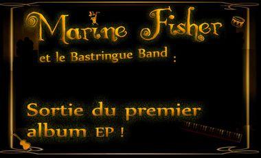 Visuel du projet Marine Fisher et le Bastringue Band : sortie du premier album EP