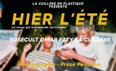 Visueel van project Hier, l'été : numéro 00 de la revue de La Cuillère en Plastique