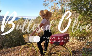 Visueel van project Bulles d'Olive : hébergements insolites en Drôme Provençale
