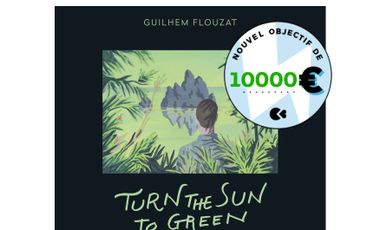 Visueel van project Turn The Sun To Green, 4e disque du batteur Guilhem Flouzat