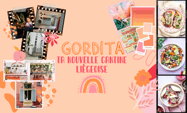 Visueel van project GORDITA, ta nouvelle cantine liégeoise