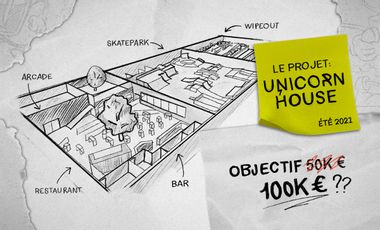 Project visual PROJET UNICORN HOUSE !