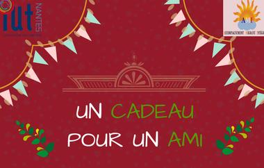 Visueel van project Noël Solidaire Association AMI - Université de Nantes