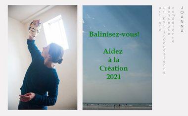 Visueel van project Balinisez-vous! Collecte pour la Création 2021