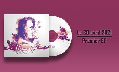 Project visual Justine_M - Premier EP Vivants