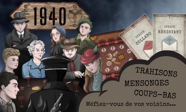 Visuel du projet 1940 - le jeu