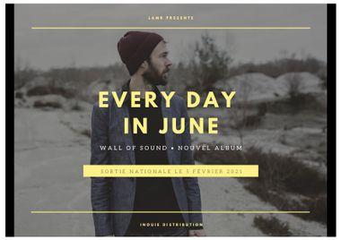 Visueel van project Participez à la fabrication du premier album d'Every Day In June