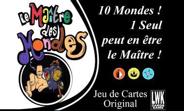 Project visual Le Maître des Mondes - JEU DE CARTES ORIGÉNIAL