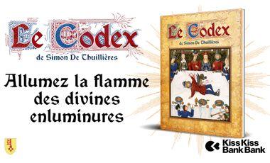 Visuel du projet Le Codex de Simon de Thuillières