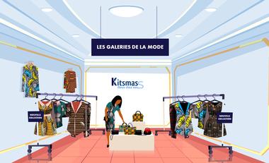 """Visueel van project """"Les Galeries Solidaires de la mode"""" pour les jeunes créatrices du Bénin"""