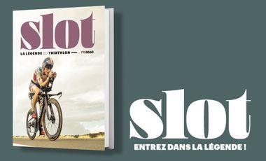 Visuel du projet Slot, la légende du triathlon