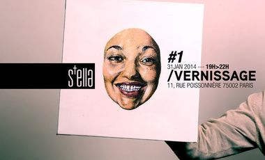 Project visual Vernissage de S+ella