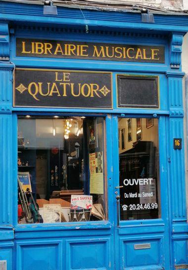 Visueel van project Soutenez LE QUATUOR Librairie Musicale Européenne
