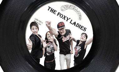 Visuel du projet 1er CD The Foxy Ladies