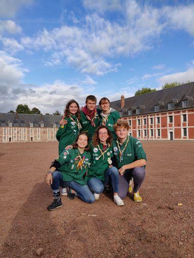 Visueel van project Projet solidaire des Scouts et Guides de France