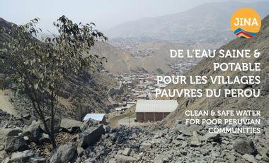 Project visual Pur'Agua - Eau potable pour des communautés pauvres du Pérou.