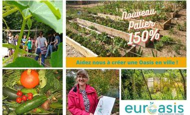Visueel van project Le Jardin d'EurOasis: jardin pédagogique permacole & jardin partagé solidaire