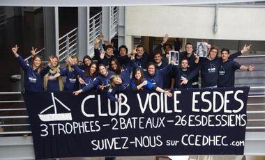 Visueel van project Club Voile Esdes à la Course Croisière Edhec