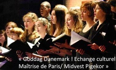 Visuel du projet « Goddag Danemark ! Echange culturel Maîtrise de Paris/ Midvest Pigekor »