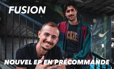 Visuel du projet F U S I O N - Nouvel EP de Menni Jab & Pi-Well