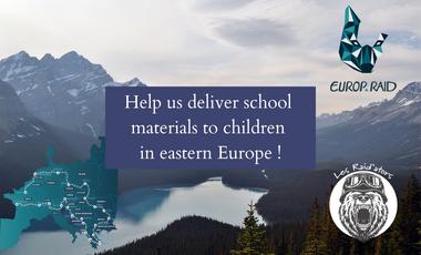 Visuel du projet Europ'raid 2021 / Rejoignez l'aventure | Aidez des enfants en Europe